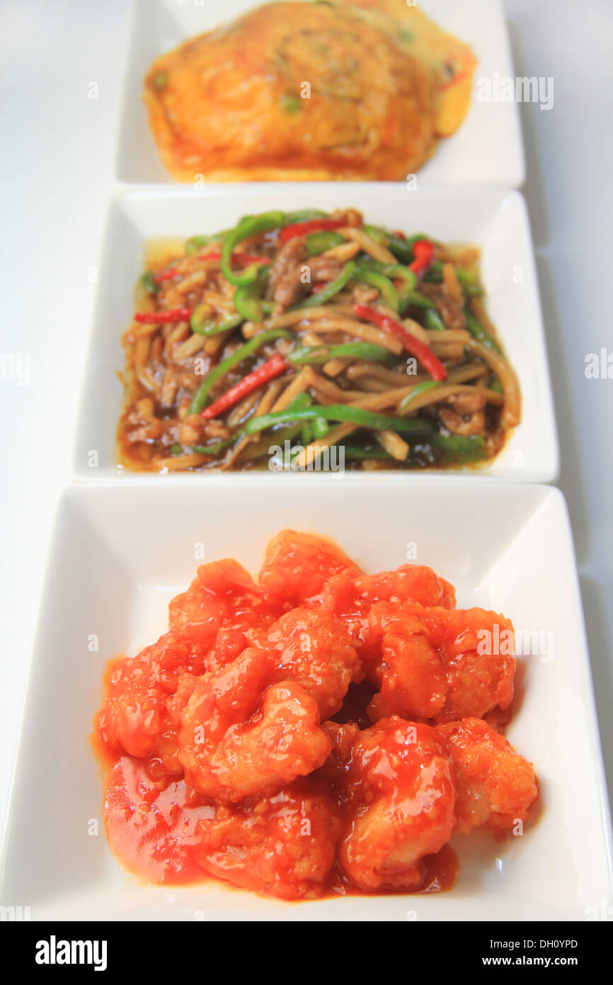 Ebi Chili Stir Fried Shrimp In Chilli Sauce Stock Photo Alamy