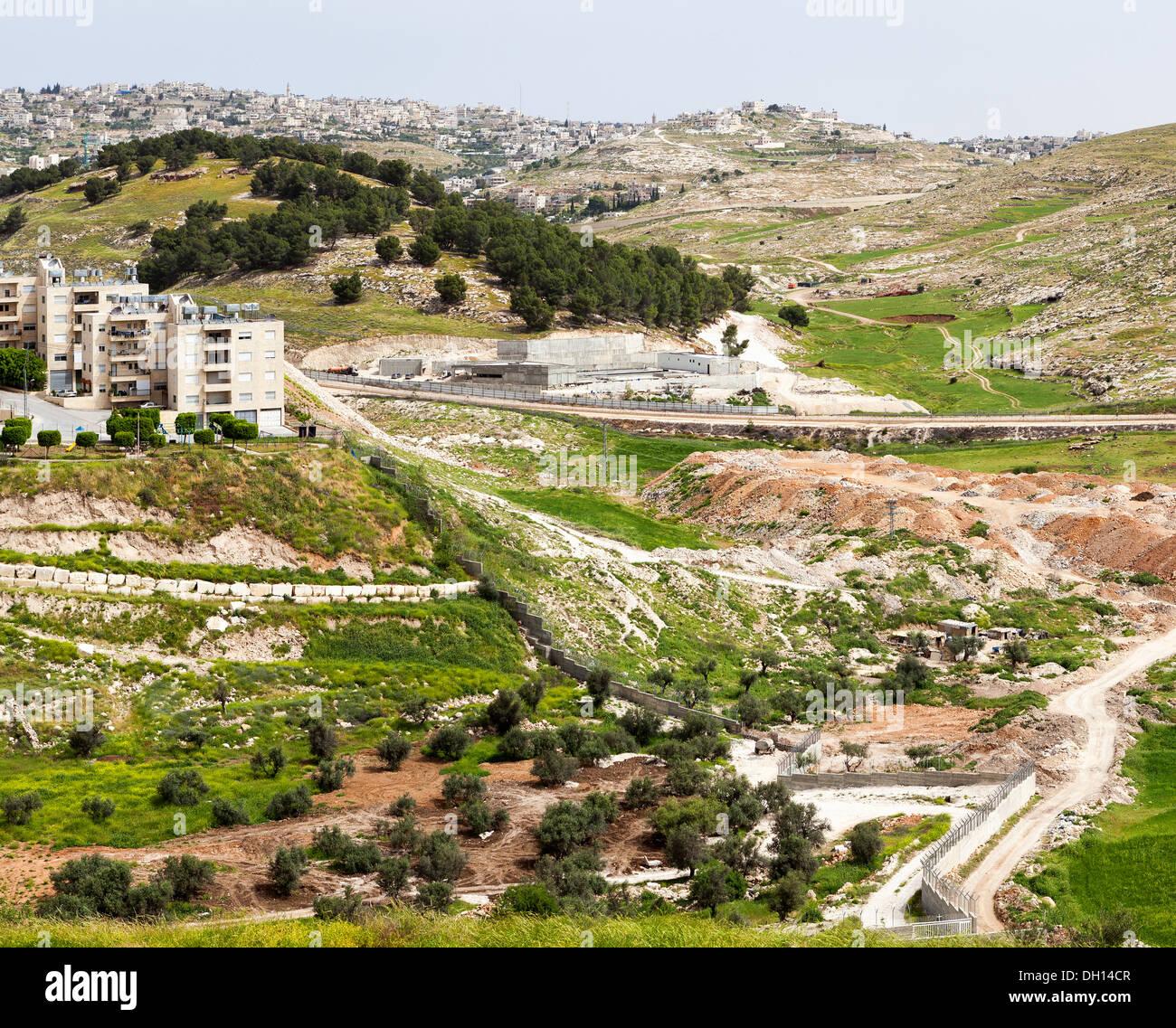 Bethlehem in the Holy Land - Stock Image