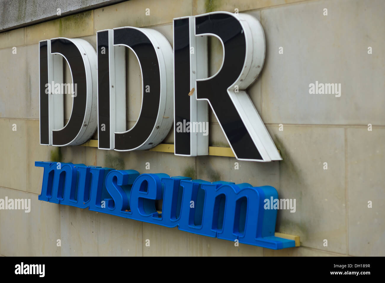 The DDR Museum is an interactive museum in the centre of Berlin. - Stock Image