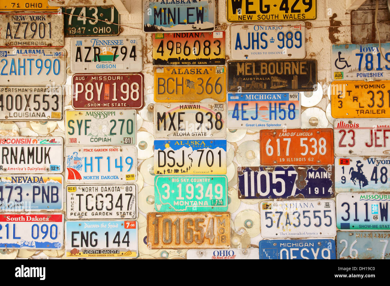 license plates collection truth or consequences new mexico nm adorned decorated decorative detailed elaborate - Stock & License Plates Stock Photos \u0026 License Plates Stock Images - Alamy