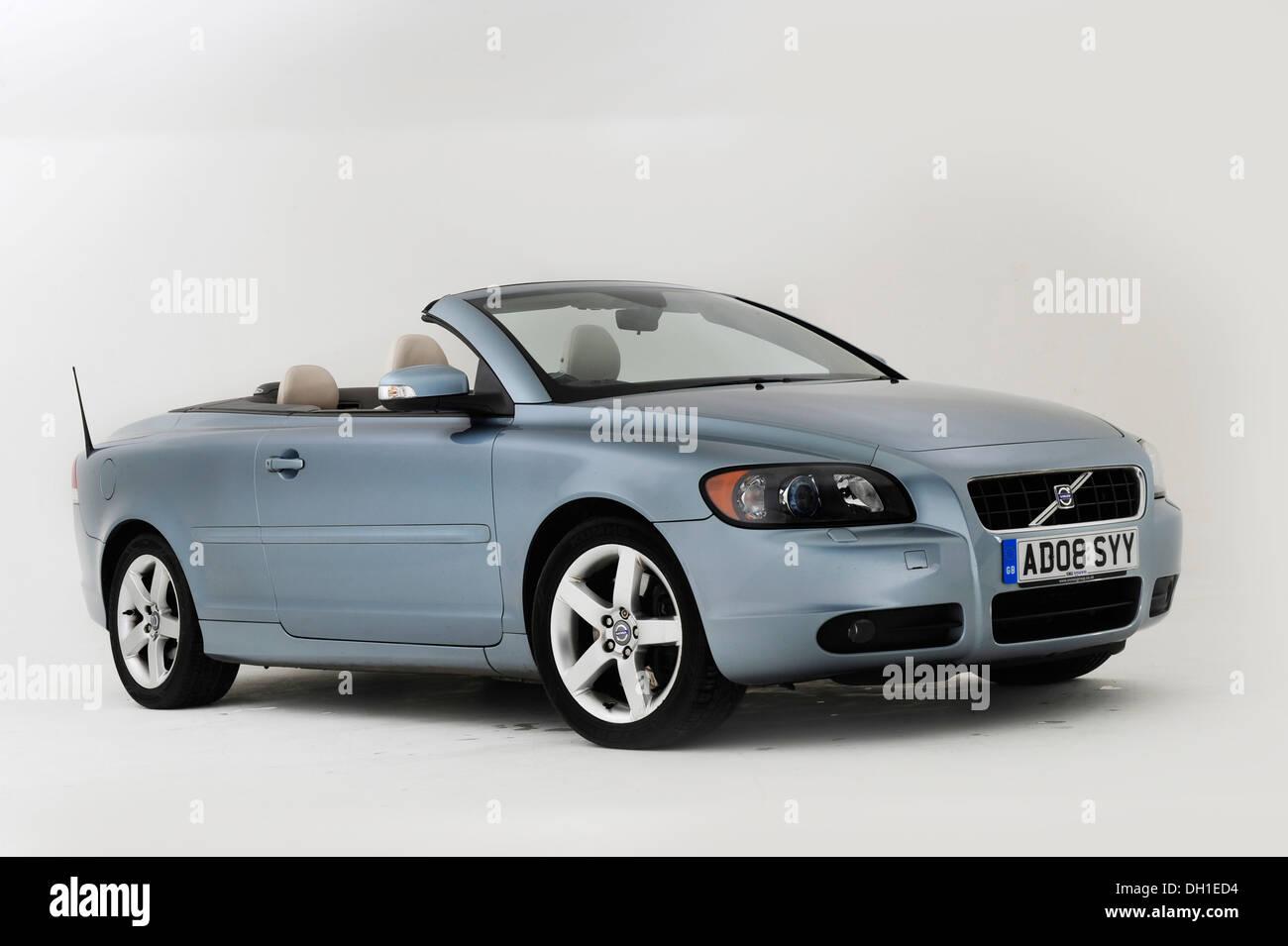 2008 Volvo C70 Convertible - Stock Image