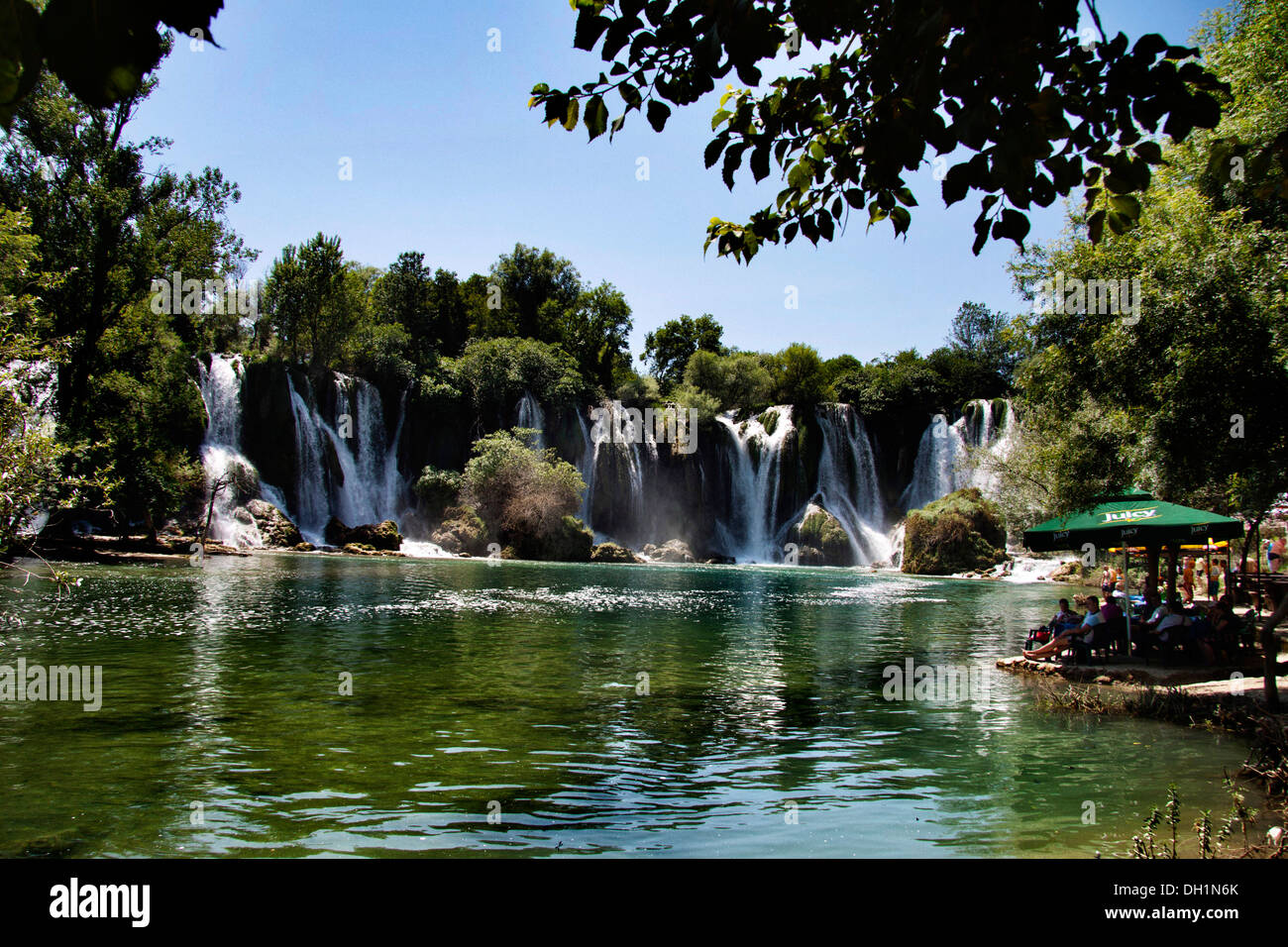 Kravice waterfalls Bosnia Herzegovina - Stock Image
