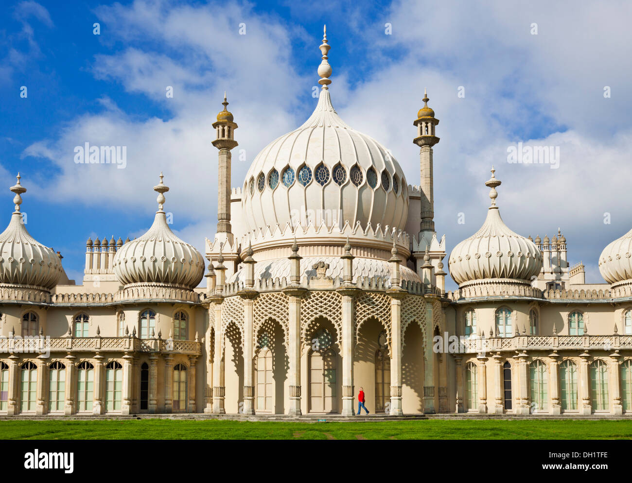 Brighton Pavillion pavilion Brighton East Sussex England UK GB EU Europe - Stock Image
