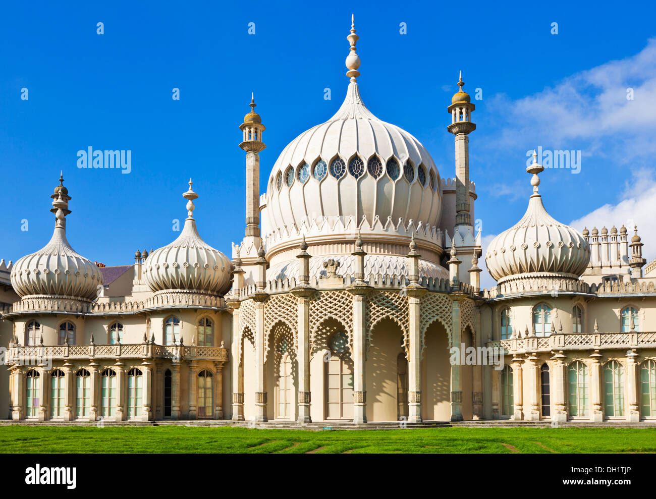 Brighton Pavillion Royal pavilion Brighton East Sussex England UK GB EU Europe - Stock Image