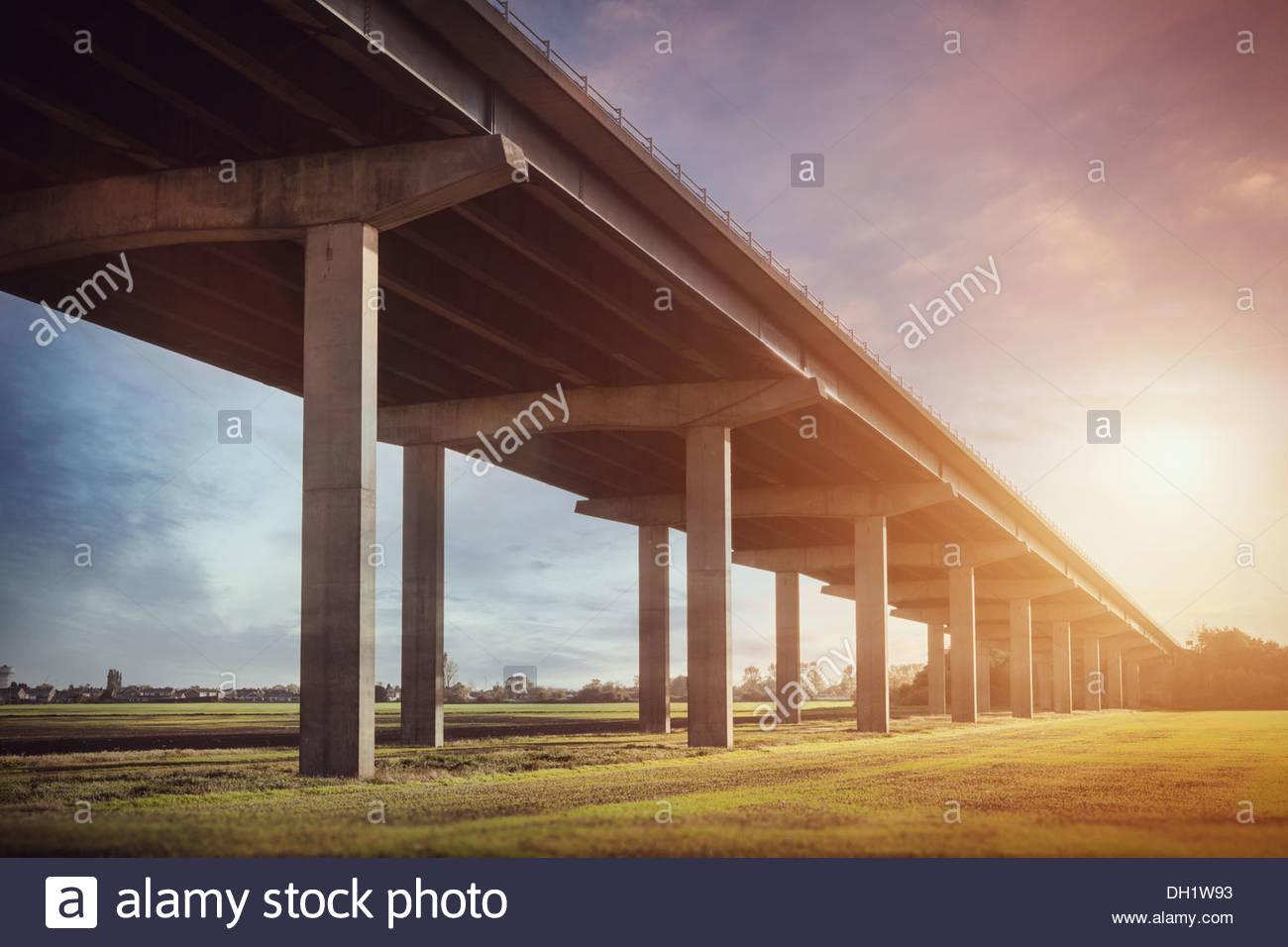 flyover bridge - Stock Image
