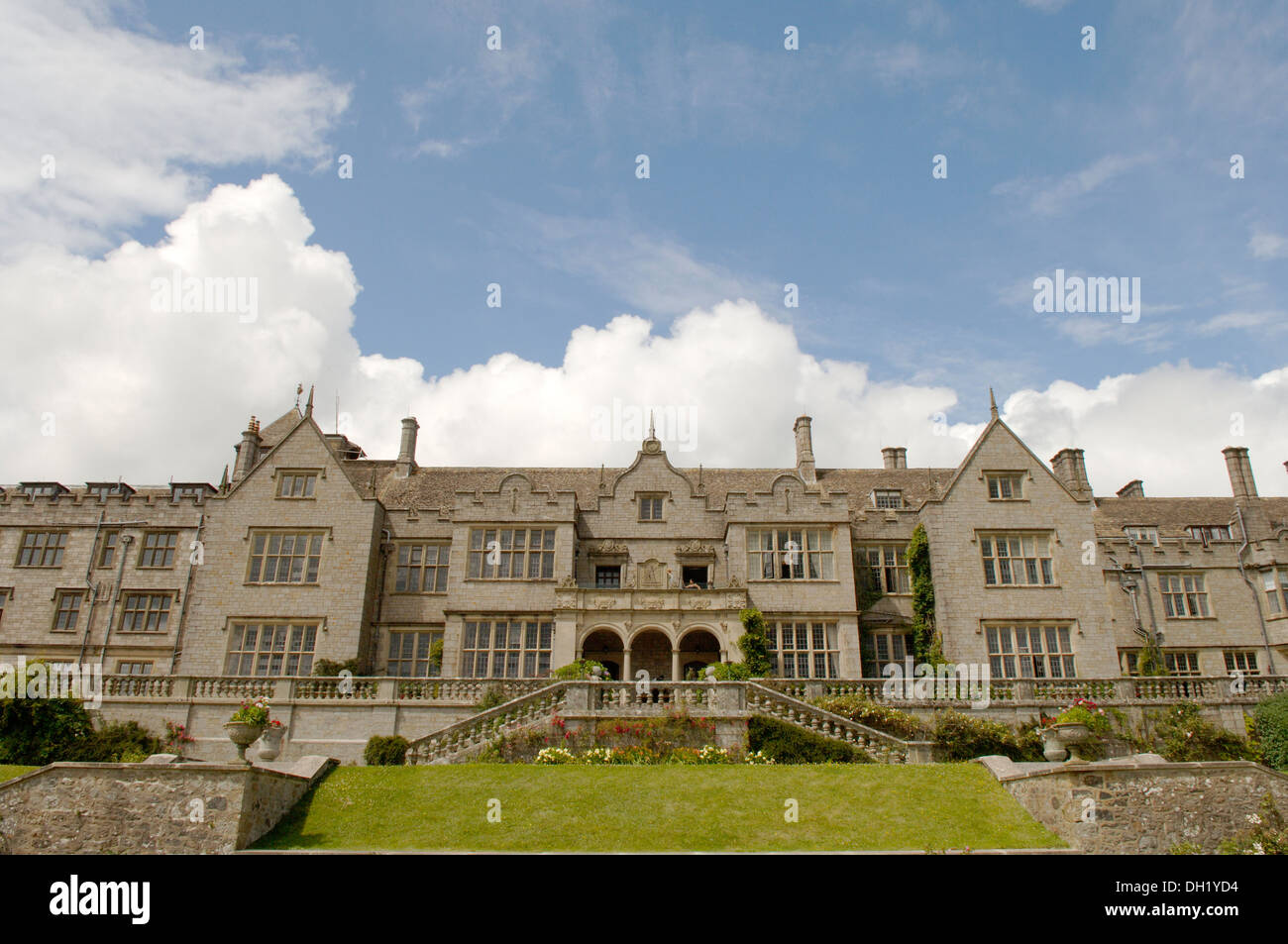 Bovey Castle wedding venue devon country hotel - Stock Image