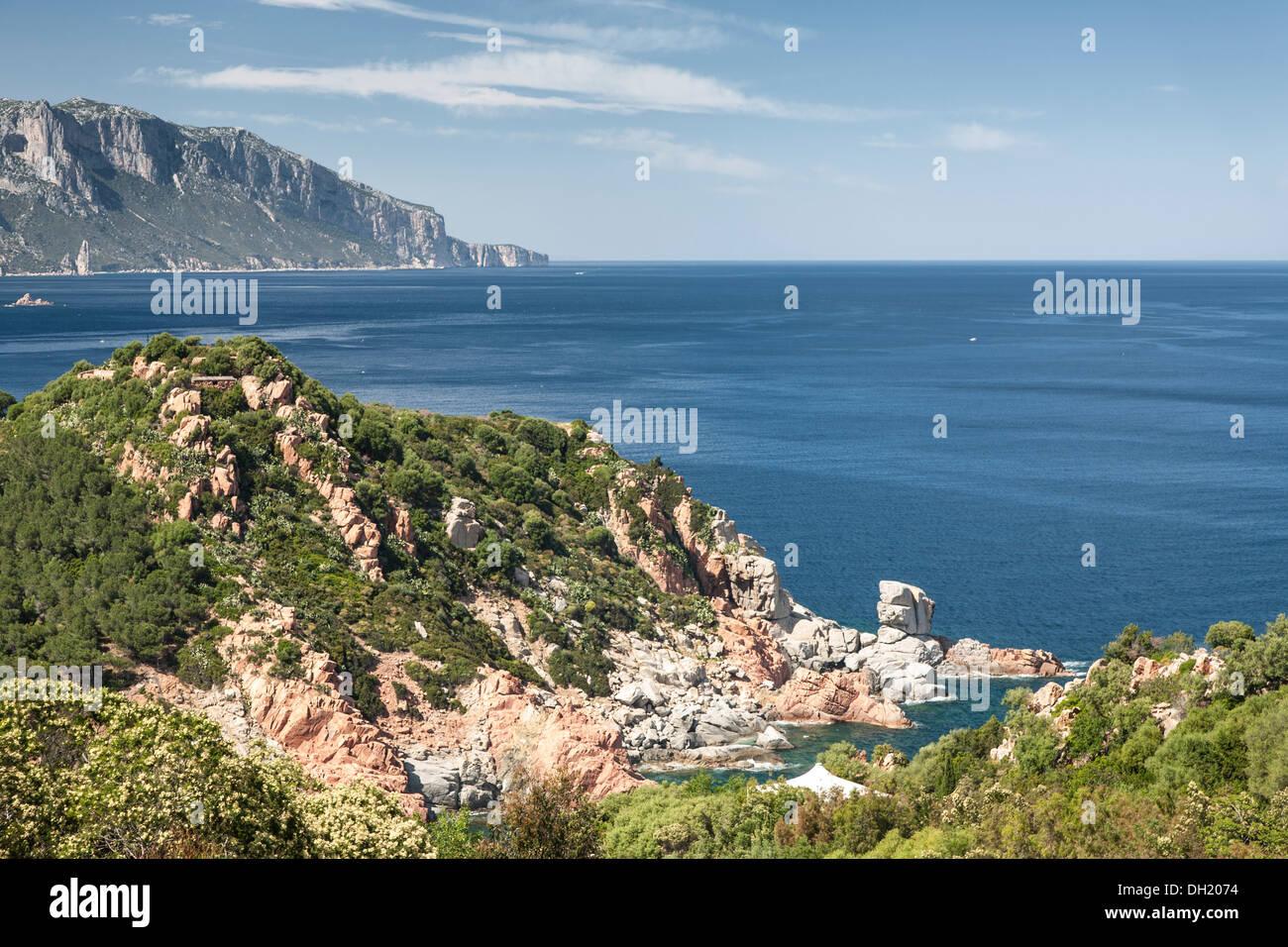 Sardinian Coast - Stock Image