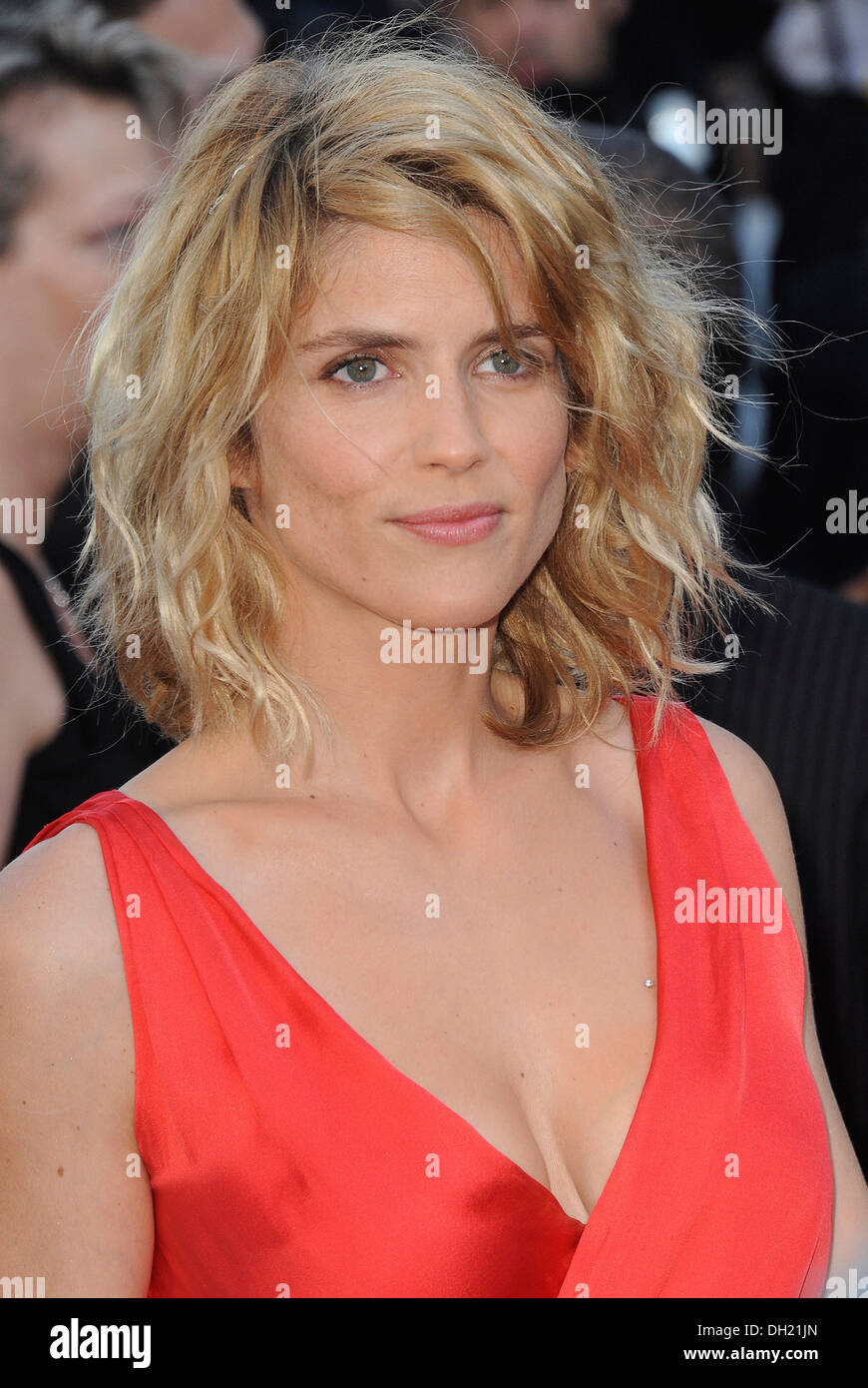 """City of Cannes: Alice Taglioni walking on the famous red carpet before the  screening of """"Blood Ties"""" on 2013/05/20"""