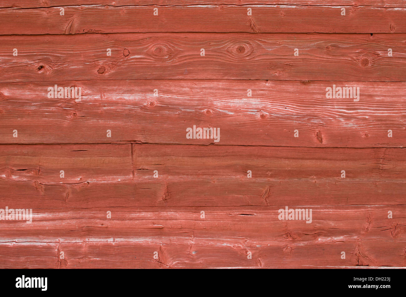 Red patina background - Stock Image