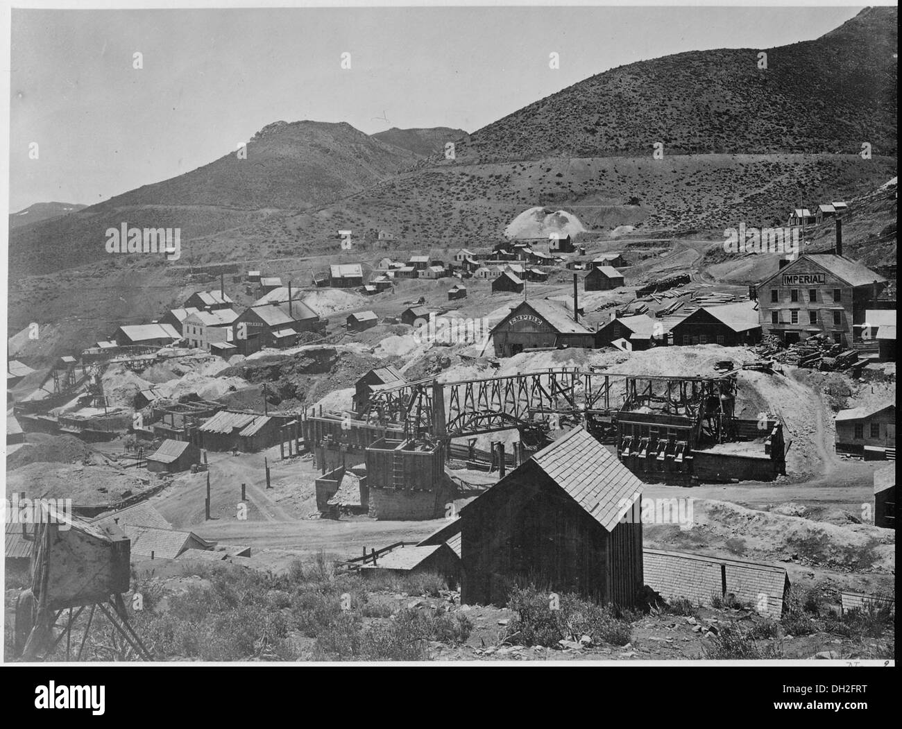 Gold Hill, Nevada 519506 - Stock Image