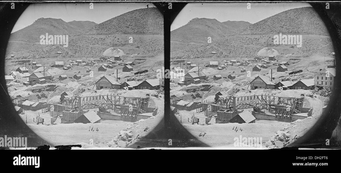 Gold Hill, Nevada 519598 - Stock Image