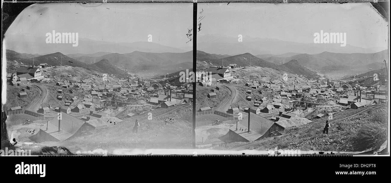 Gold Hill, Nevada 519599 - Stock Image