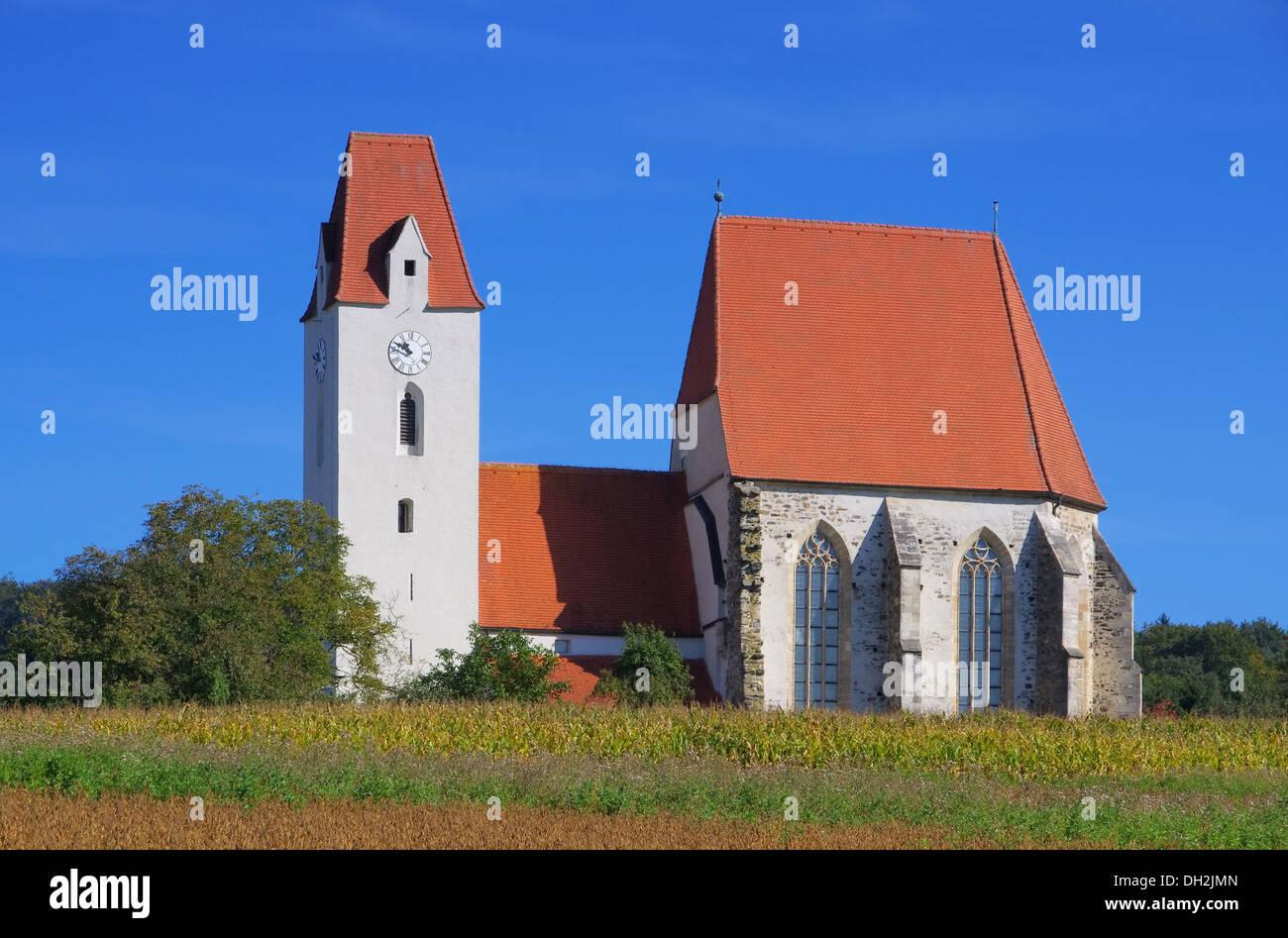 Mauer bei Melk Kirche - Mauer near Melk church 02 - Stock Image