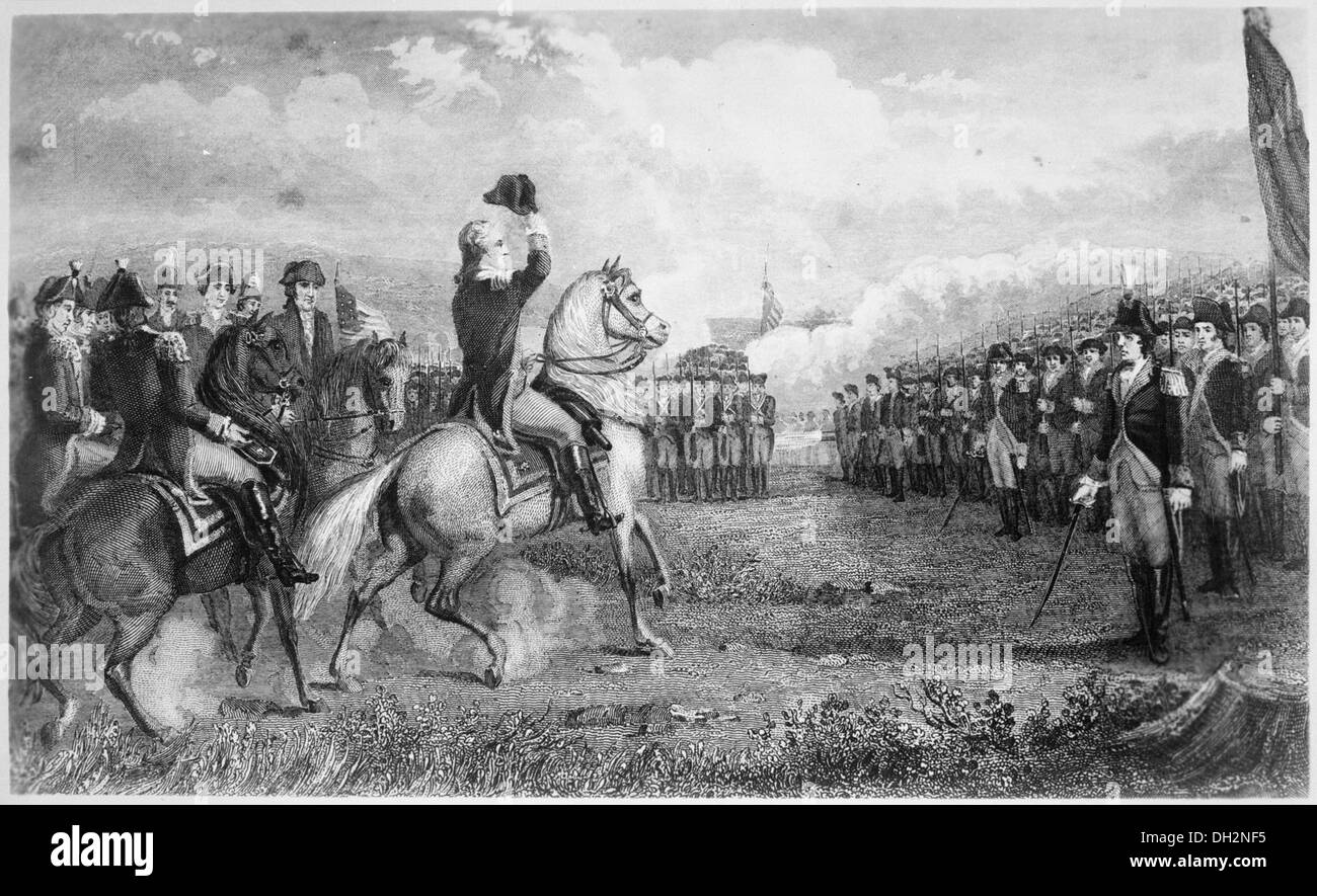 Washington taking command of the American Army at Cambridge, 1775 532874