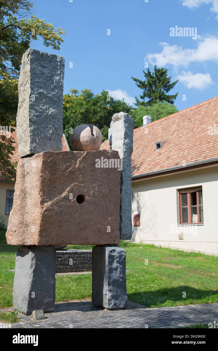 Stone Garden (sculptures Of Pierre Szekely), Pecs, Southern Transdanubia,  Hungary