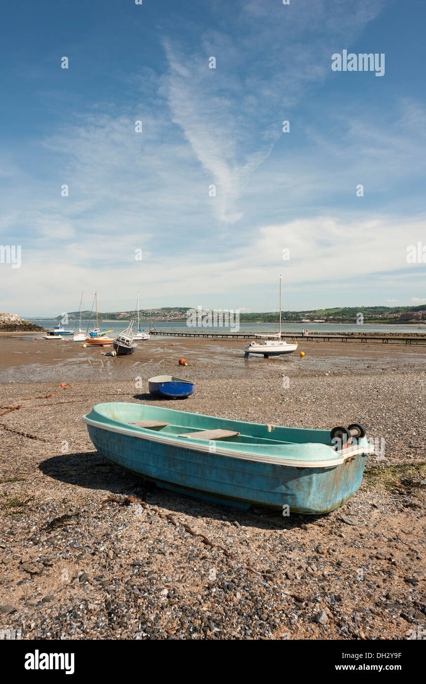 Rhos on Sea promenade - Stock Image