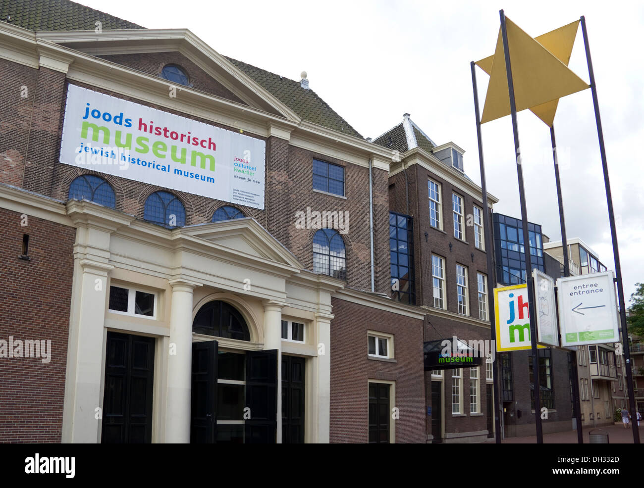 The Jewish Historical Museum, Amsterdam Holland Stock Photo