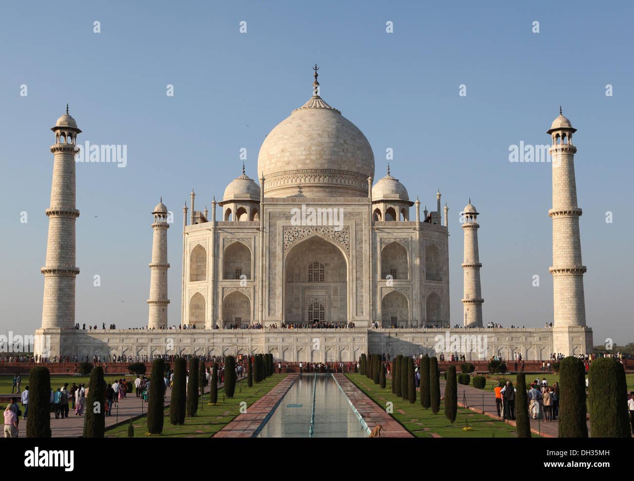 Taj Mahal, Agra, Uttar Pradesh, India, Asia Stock Photo