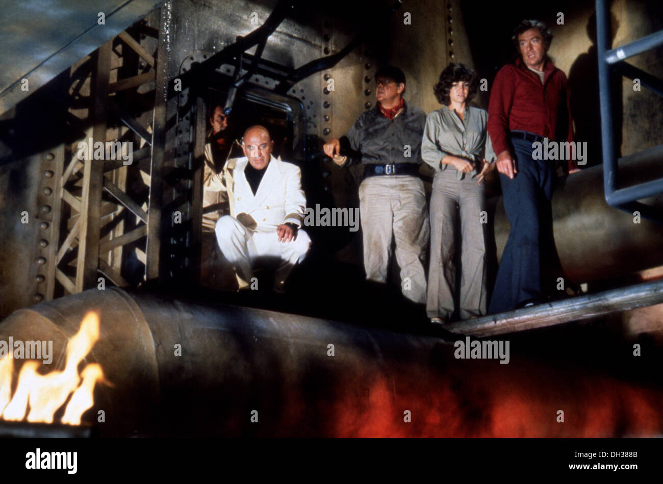 BEYOND THE POSEIDON ADVENTURE 1979) TELLY SAVALAS, KARL MALDON, SALLY FIELD, MICHAEL CAINE, IRWIN ALLEN DIR) BYPD 021 - Stock Image
