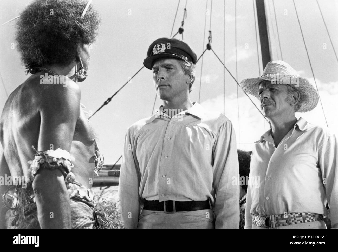 HIS MAJESTY O'KEEFE 1954) BURT LANCASTER, BRYON HASKIN DIR) HMOK 001 MOVIESTORE COLLECTION LTD - Stock Image