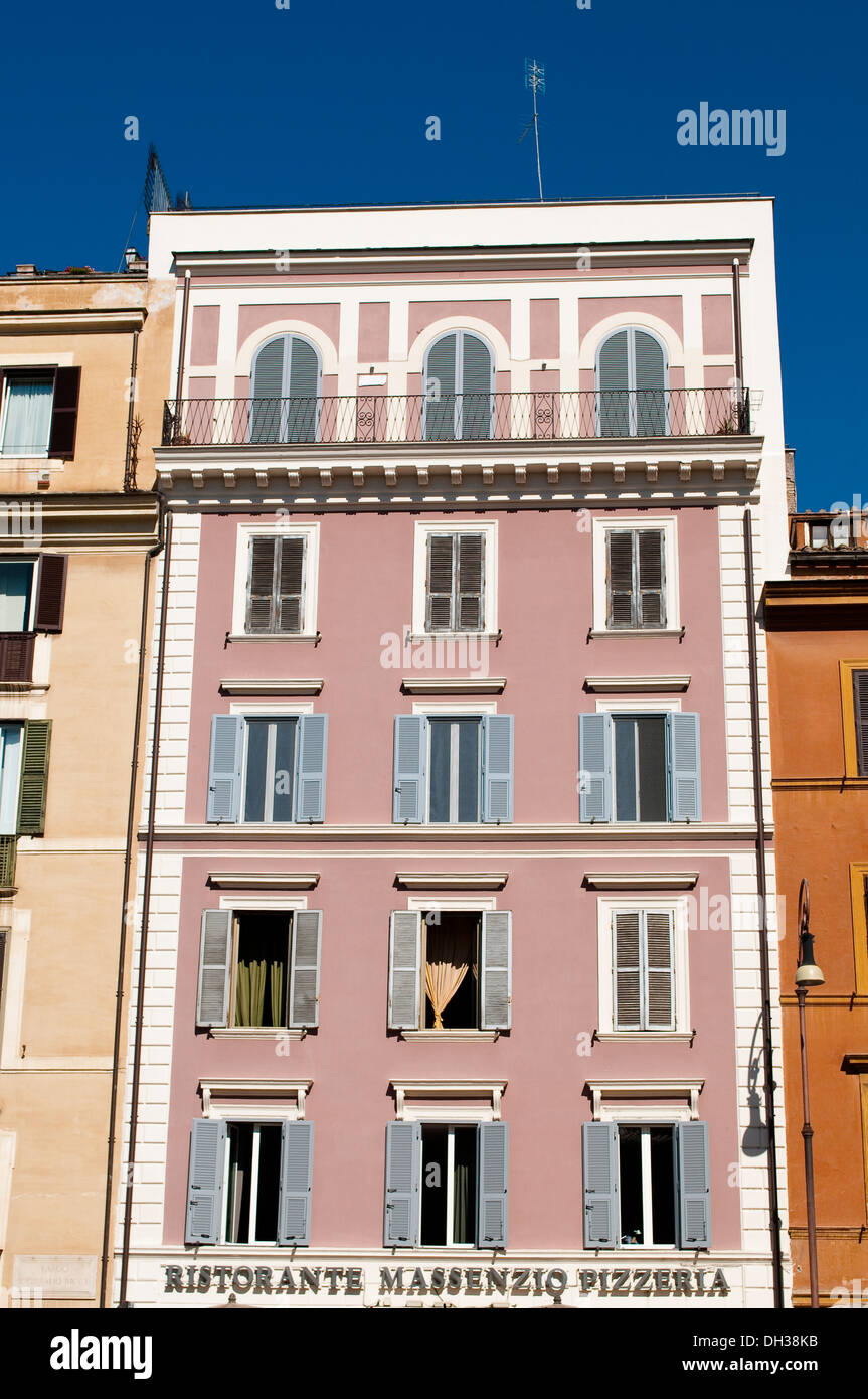 Pink Shutters Stock Photos & Pink Shutters Stock Images - Alamy