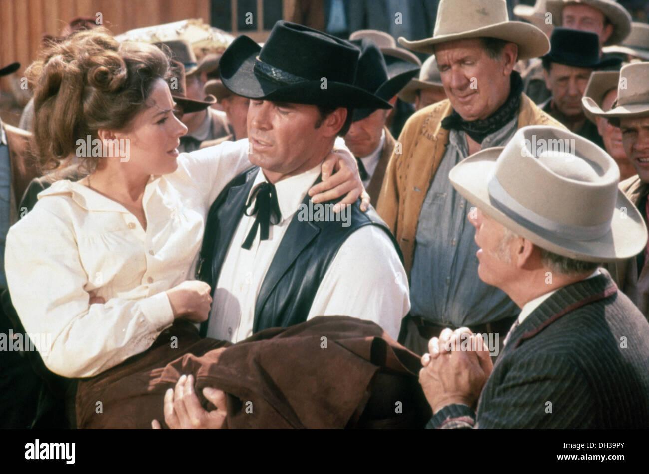 SUPPORT YOUR LOCAL SHERIFF 1969) JAMES GARNER, JOAN HACKETT, BURT KENNEDY DIR) SYLS 001 MOVIESTORE COLLECTION LTD - Stock Image