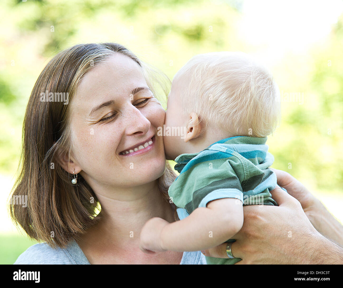 mother with baby - Stock Image
