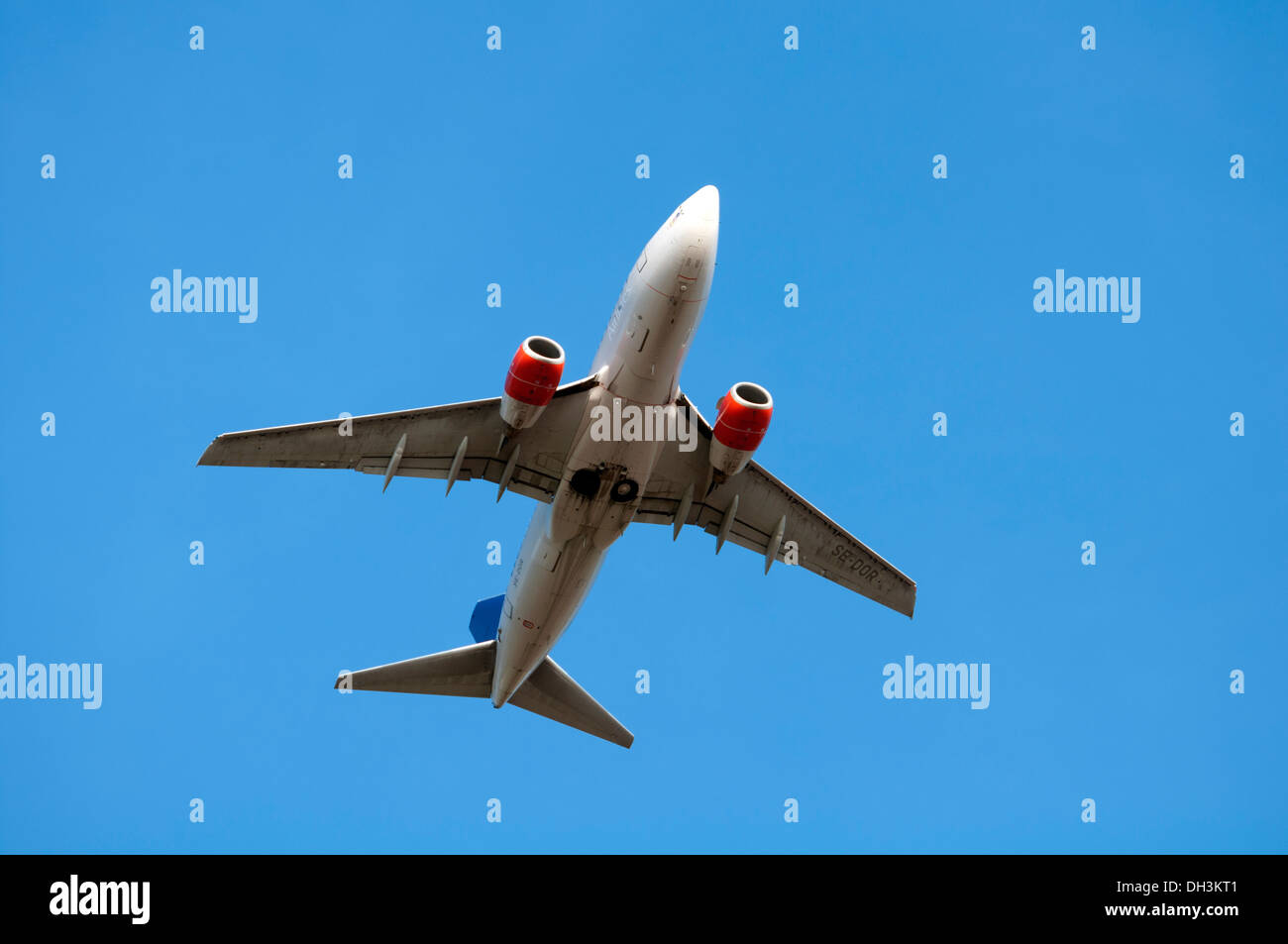 SAS Boeing 737 aircraft - Stock Image