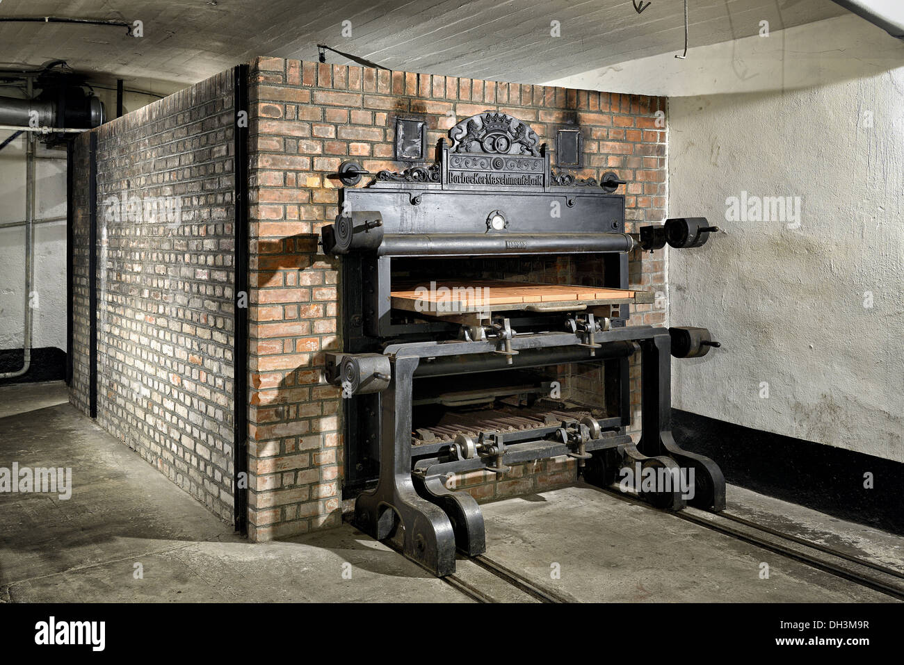 Bread oven, Guentrange fortress, Maginot line. - Stock Image