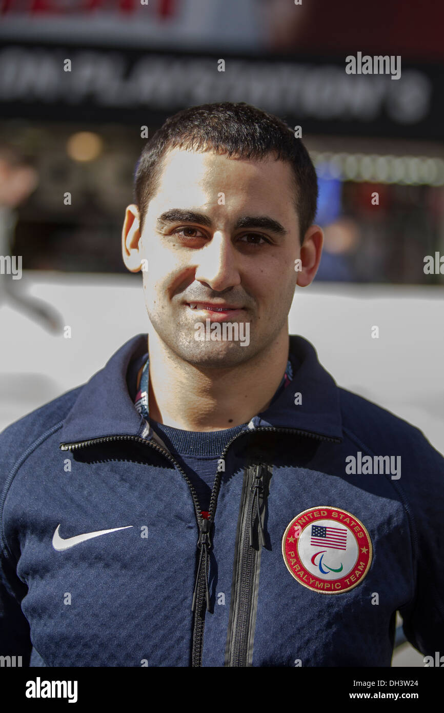 Steve Cash at the USOC 100 Day Countdown to the Sochi 2014 Olympic Winter Games - Stock Image