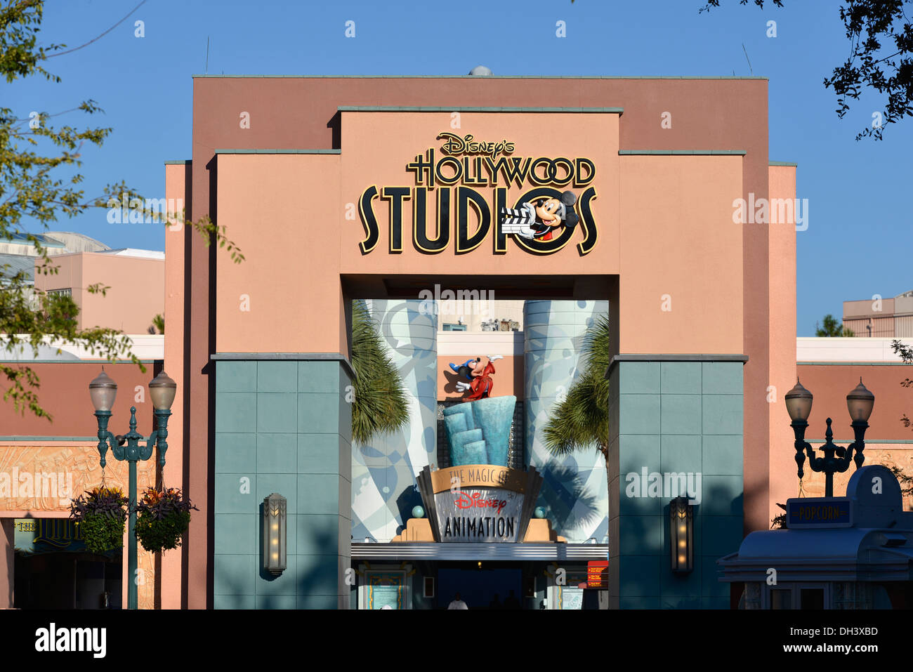 Hollywood Studios Entrance To Magic Of Disney Animation Disney