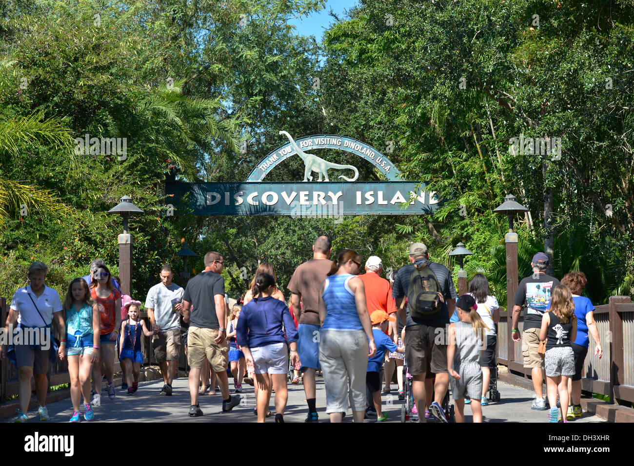 Discovery Island Which Park In Disneyworld