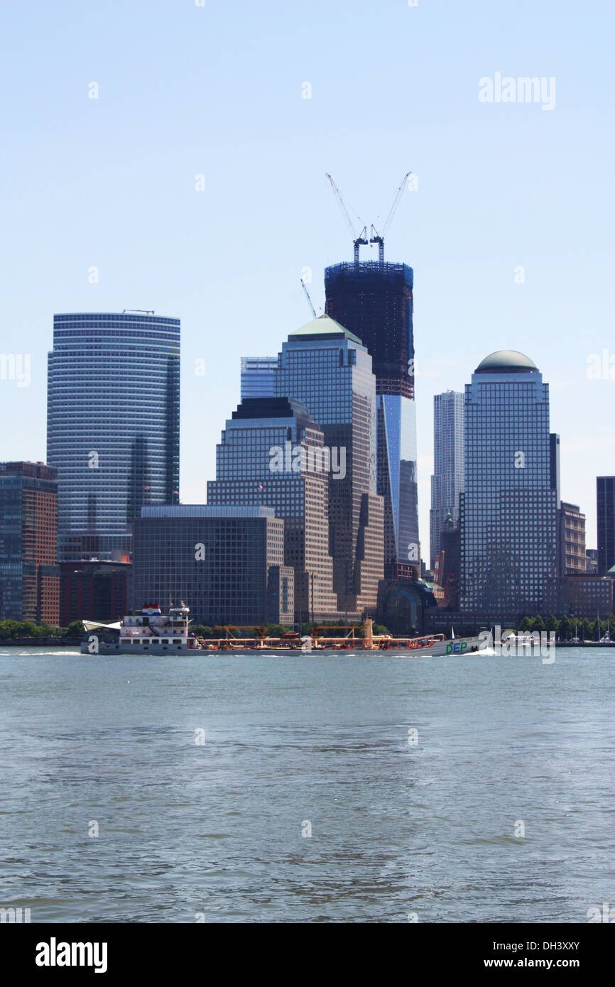 New York Manhattan buildings Stock Photo