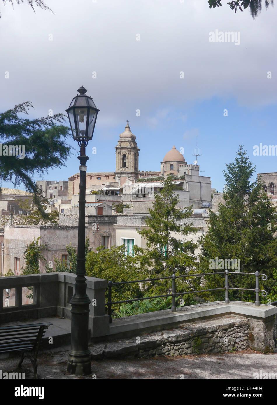 Erice, Sicily, Italy - Stock Image