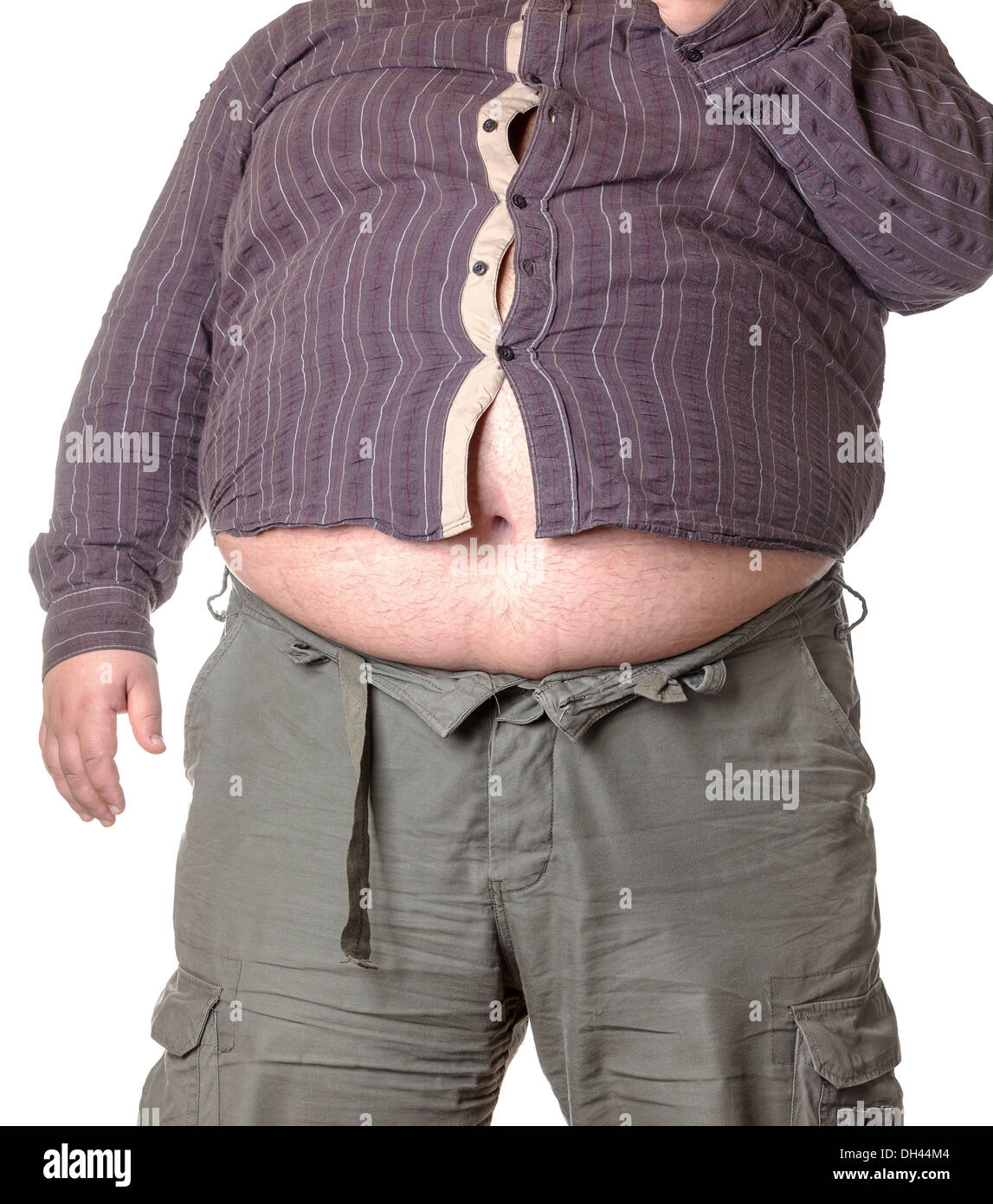 Belly Fat Man Stock Photos & Belly Fat Man Stock Images