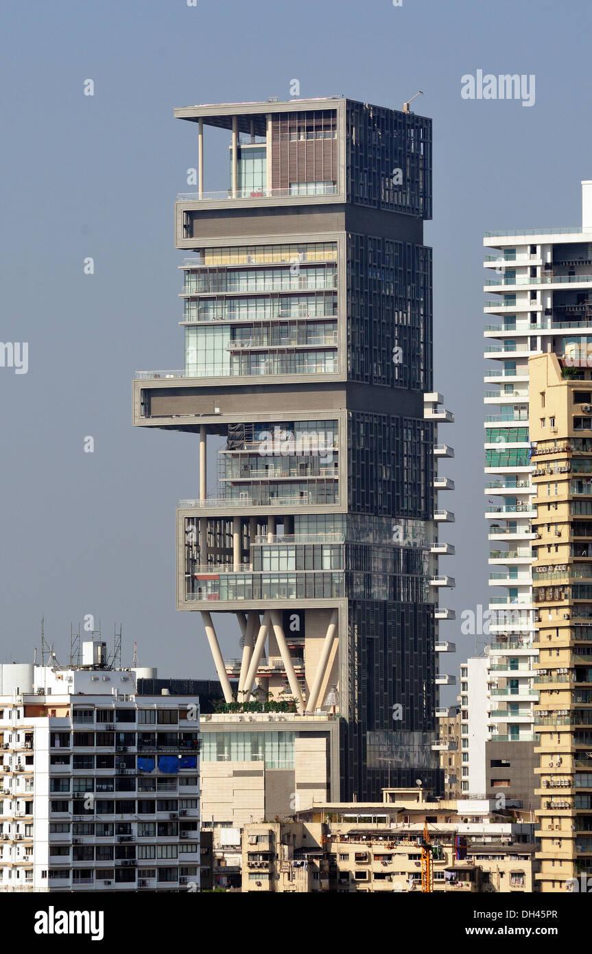 Inspiring Pics Of Mukesh Ambani House Pictures - Plan 3D house ...