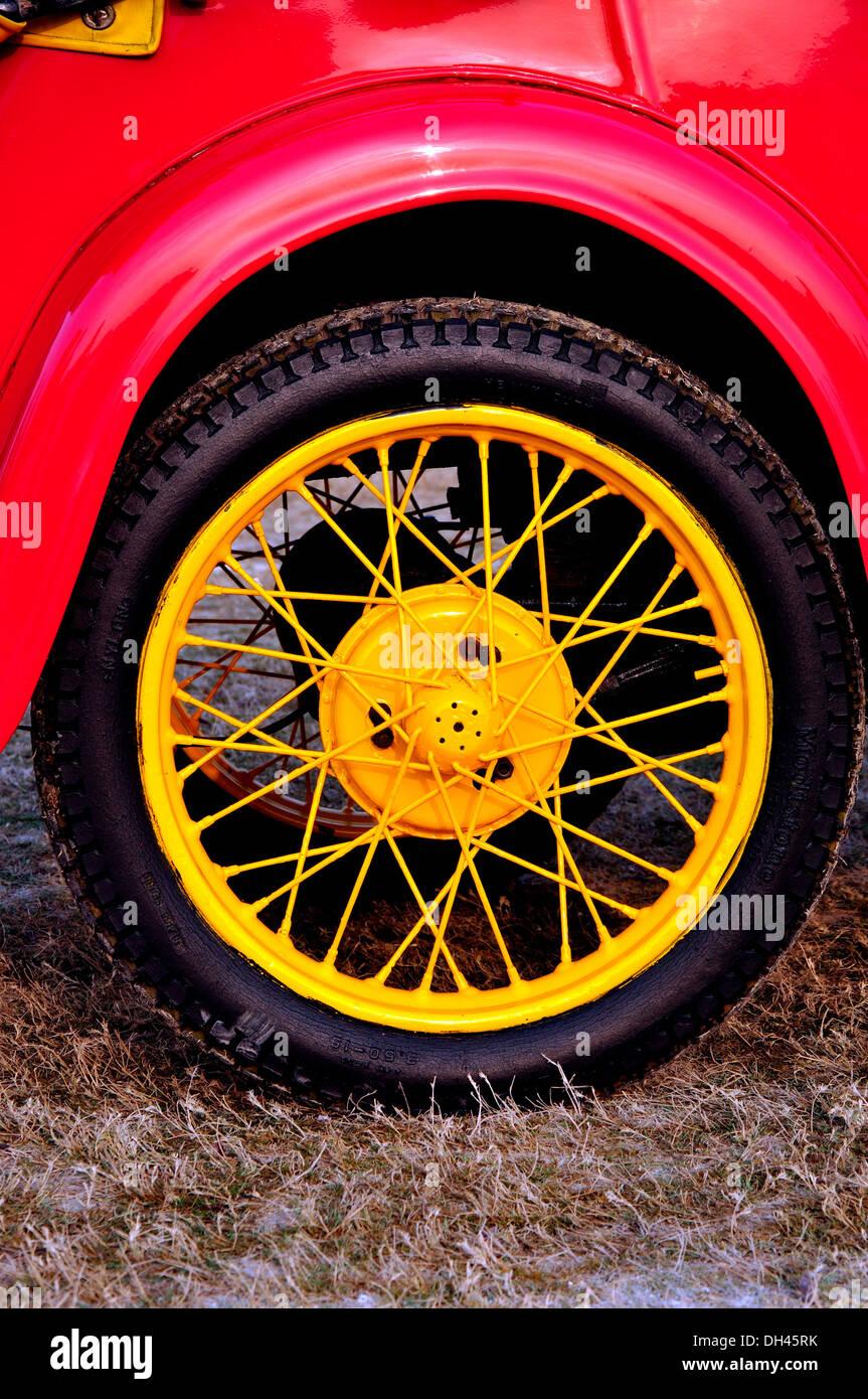 Red Wheel Weiser Online Bookstore: Vintage Car Wheel Stock Photos & Vintage Car Wheel Stock