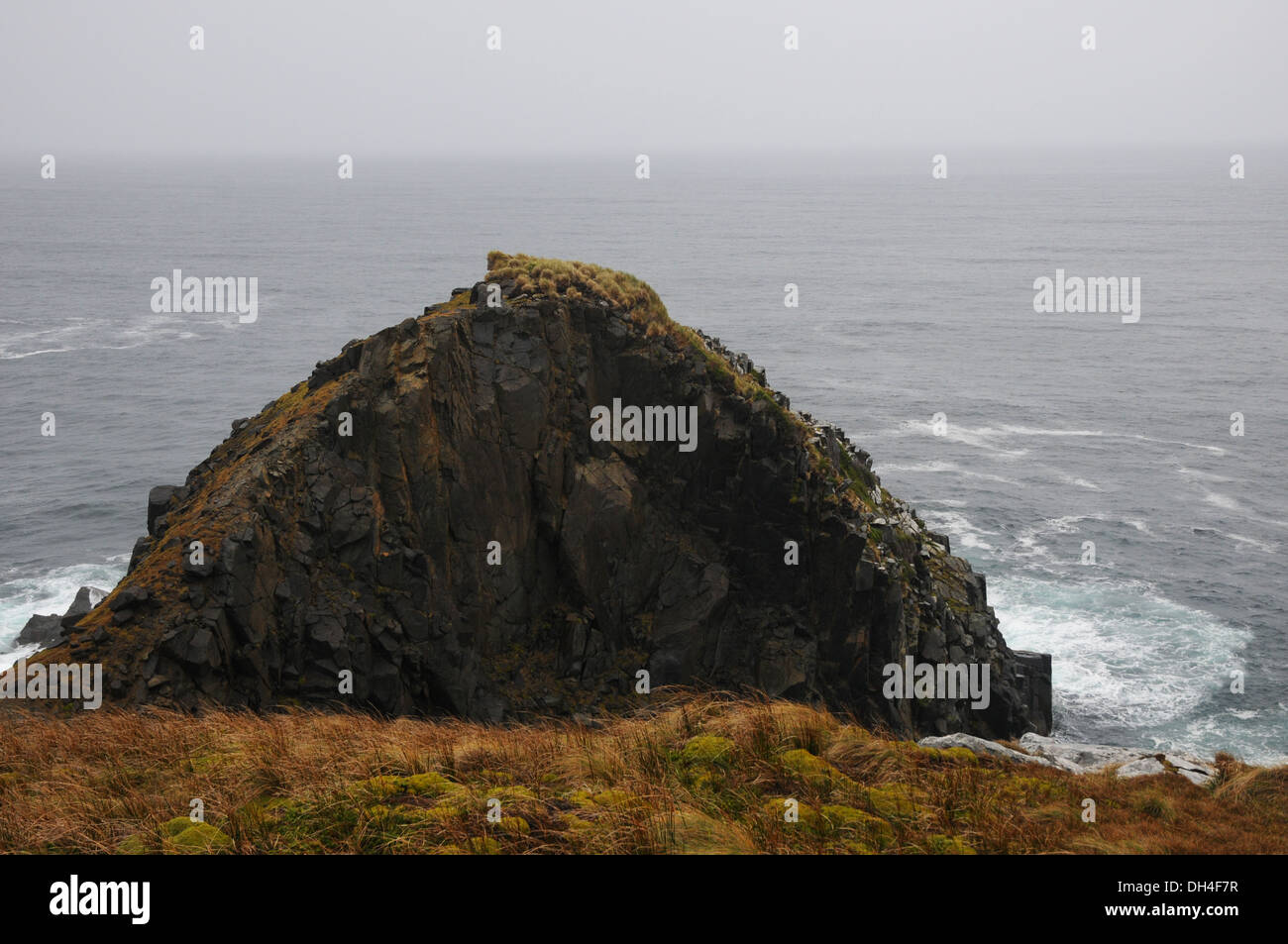 last point of land before Antarctica - Stock Image