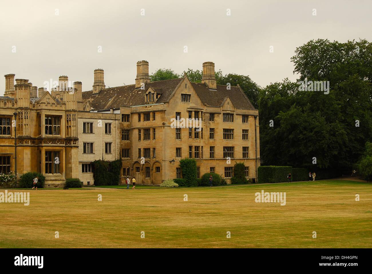 Residencia de estudiantes en Cambridge, Reino Unido,Academia,académico - Stock Image