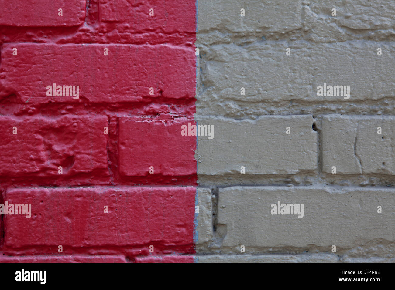 WASHINGTON - Alley wall in Seattle. - Stock Image