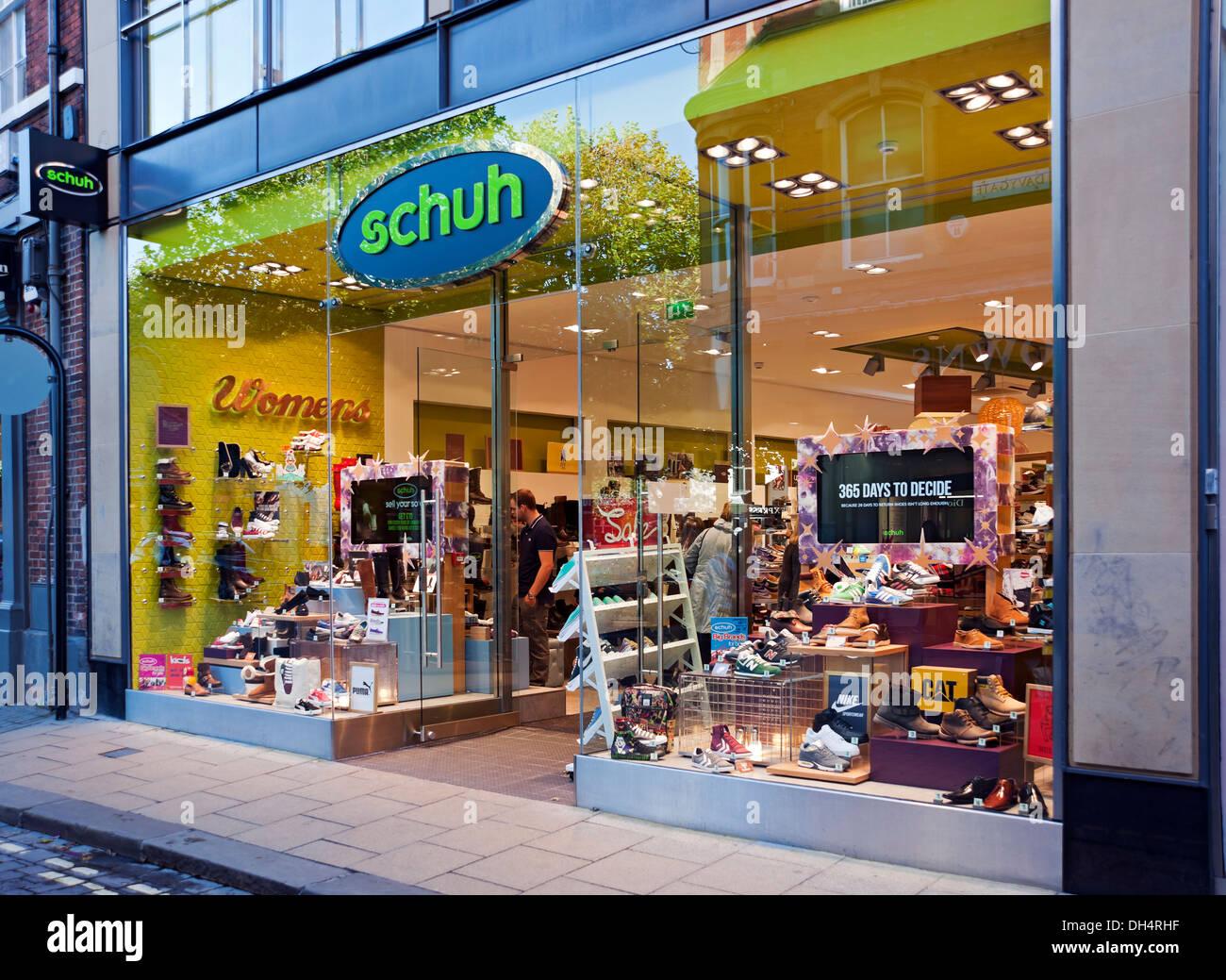 Shoe Store Exterior High Resolution