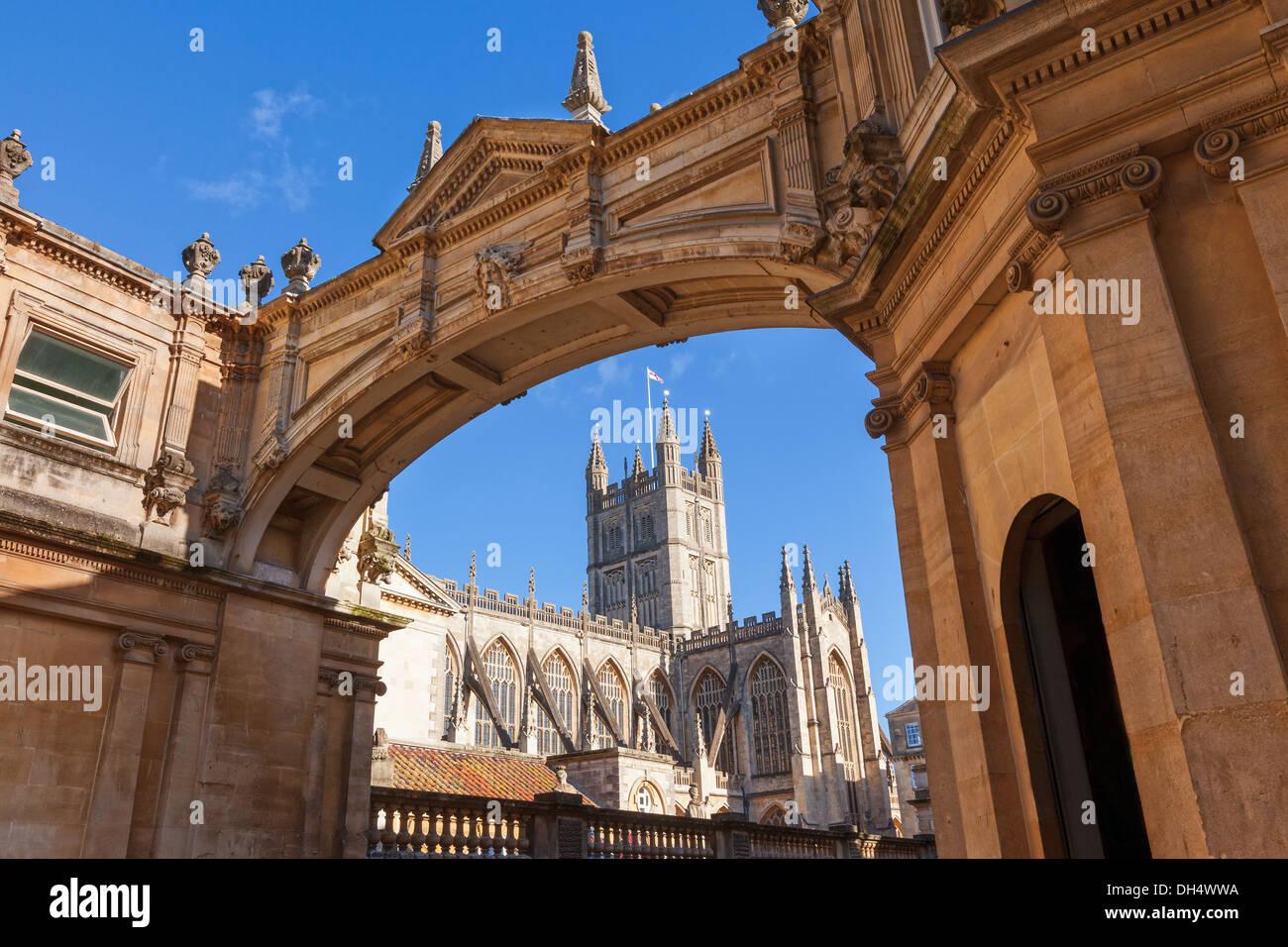 Bath Abbey Arch Stock Photos & Bath Abbey Arch Stock Images - Alamy