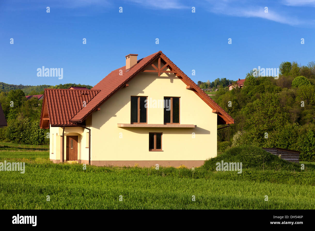 New family house - Stock Image