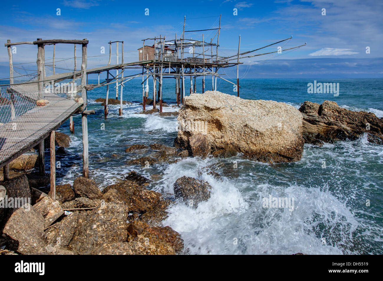 Adriatic Coast Italy, Aburzzo - Stock Image