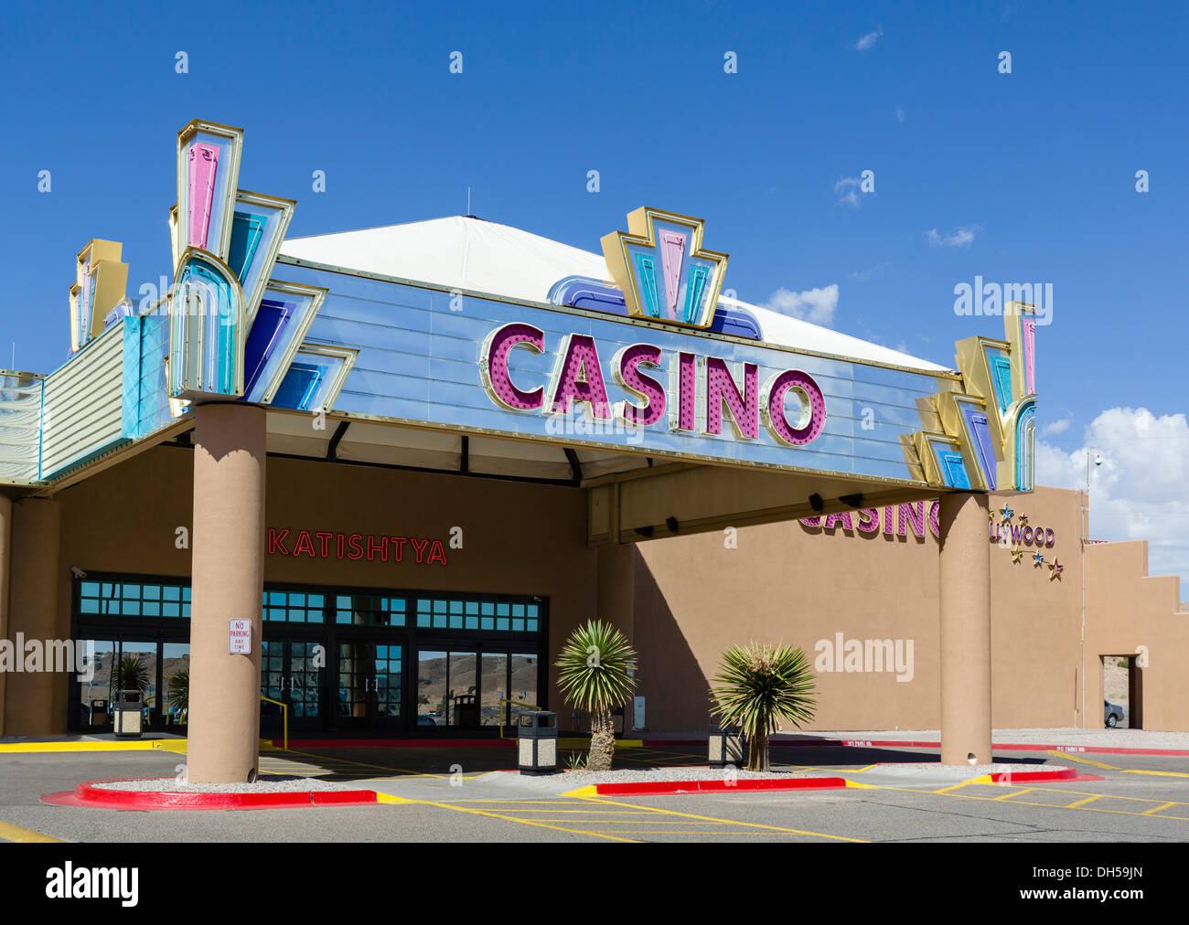 Native American Casino in San Felipe Pueblo, north of Albuquerque, New Mexico, USA - Stock Image