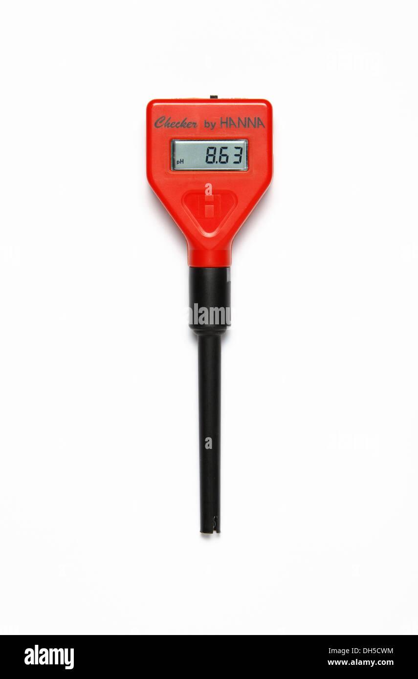 pH meter - Stock Image