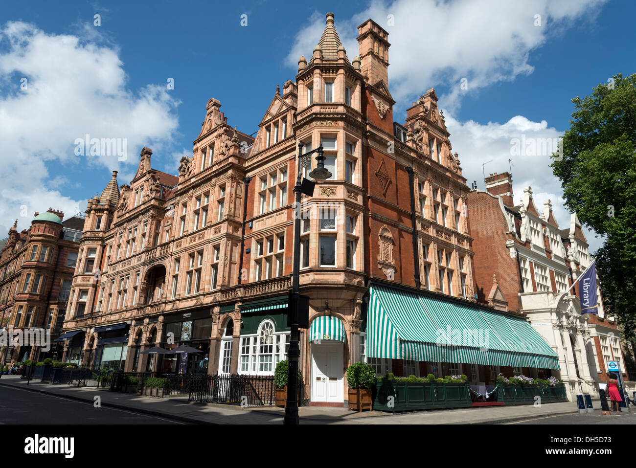 South Audley Street, Mayfair, London, England, UK - Stock Image