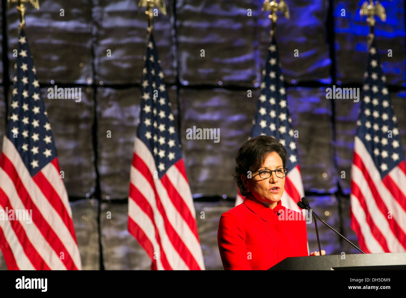 U.S. Commerce Secretary Penny Pritzker. - Stock Image