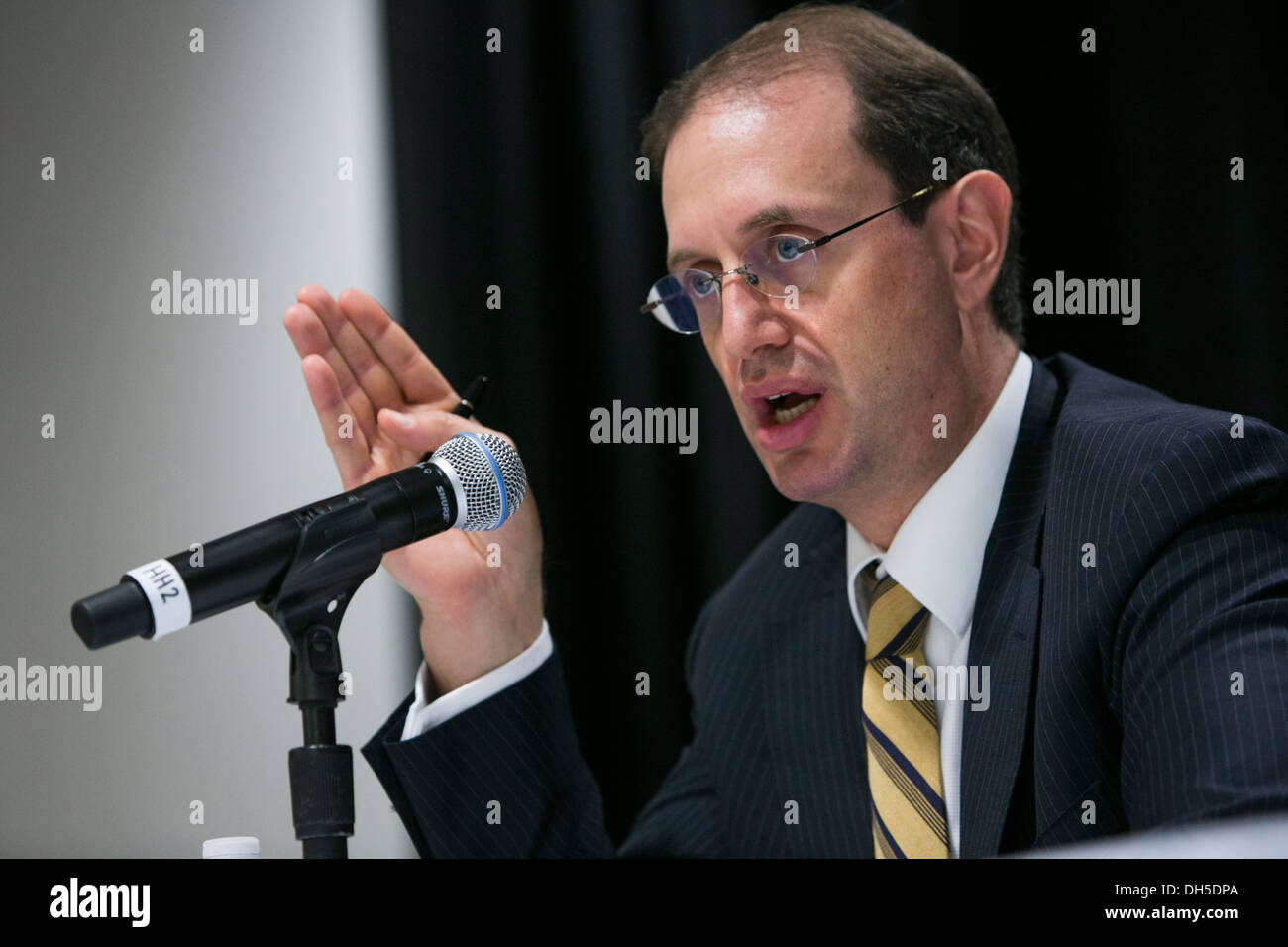 Mark Wiseman, President and CEO, Canada Pension Plan Investment Board. - Stock Image