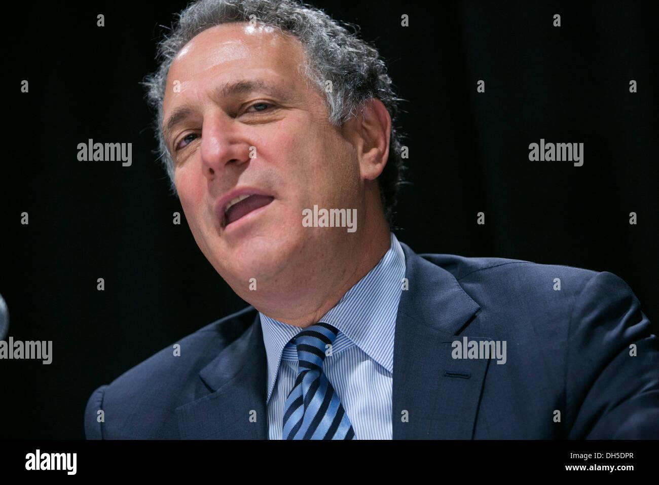 Dan Doctoroff, CEO of Bloomberg L.P. - Stock Image